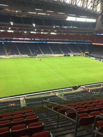 NRG Stadium secção 340