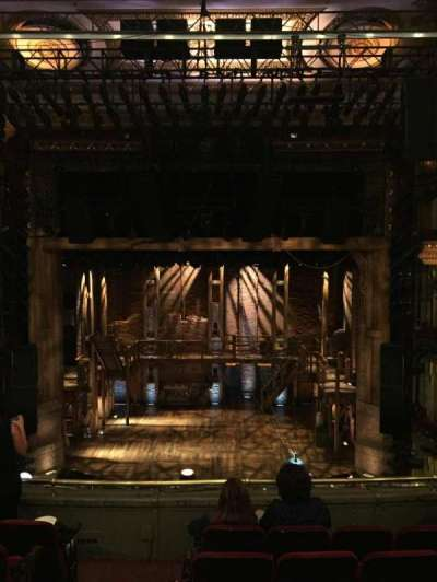 PrivateBank Theatre, secção: Mezzanine RC, fila: F, lugar: 302