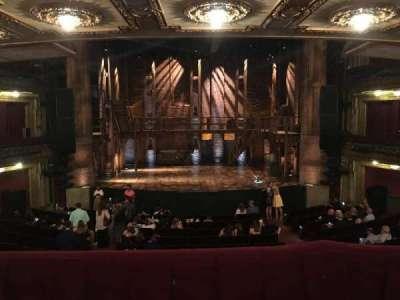 PrivateBank Theatre, secção: Dress Circle C, fila: A, lugar: 205