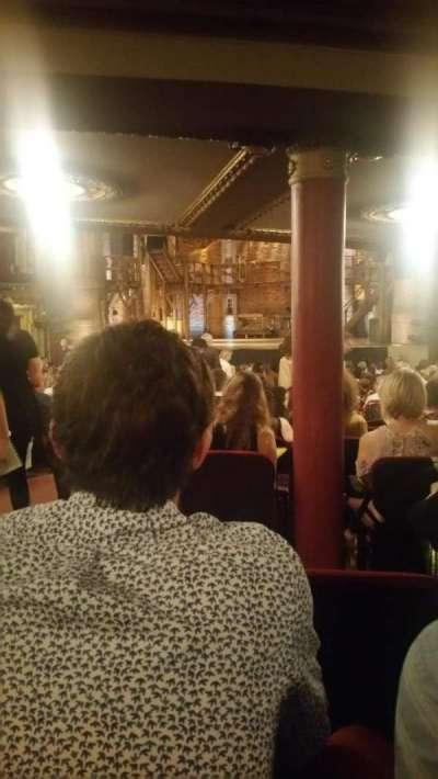 PrivateBank Theatre, secção: Orchestra R, fila: Y, lugar: 4