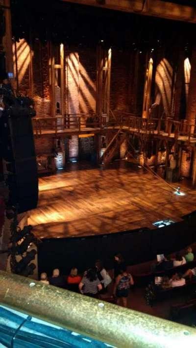 PrivateBank Theatre, secção: Mezzanine L, fila: A, lugar: 15