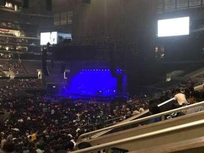 Staples Center secção Premier 7