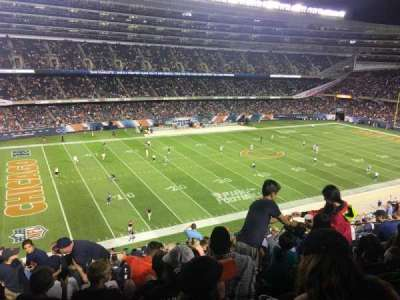 Soldier Field, secção: 342, fila: 15, lugar: 7