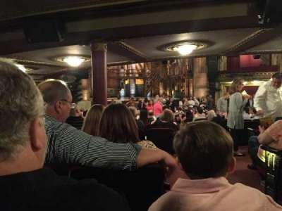 PrivateBank Theatre, secção: Stalls, fila: Z, lugar: 3