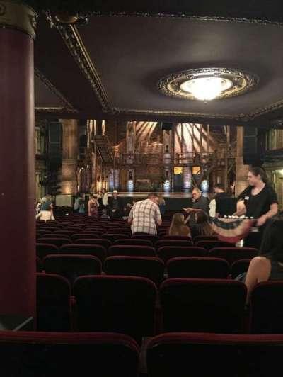 PrivateBank Theatre, secção: ORCHESTRA C, fila: Y, lugar: 117