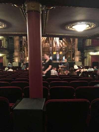 PrivateBank Theatre, secção: ORCHESTRA C, fila: Y, lugar: 116
