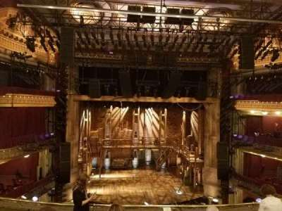 PrivateBank Theatre, secção: Mezzanine LC, fila: F, lugar: 307