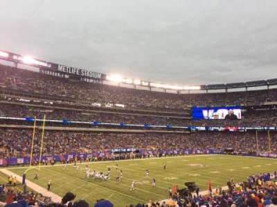 MetLife Stadium, secção: 121, fila: 29, lugar: 1and2