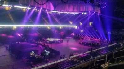 Quicken Loans Arena, secção: 106, fila: 21, lugar: 5