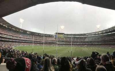 Melbourne Cricket Ground, secção: M2, fila: CC, lugar: 14