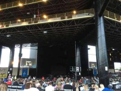 Hollywood Casino Amphitheatre (Tinley Park), secção: 206, fila: FFF, lugar: 7