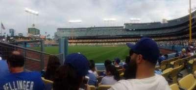 Dodger Stadium secção 53FD