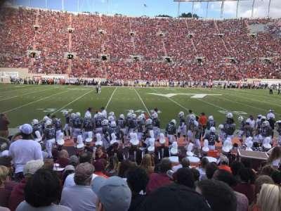 Lane Stadium, secção: 10, fila: J, lugar: 21