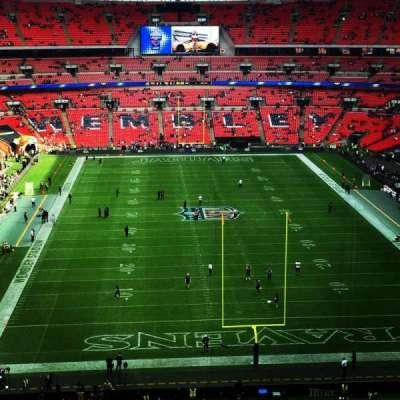Wembley Stadium, secção: 540, fila: 13, lugar: 29