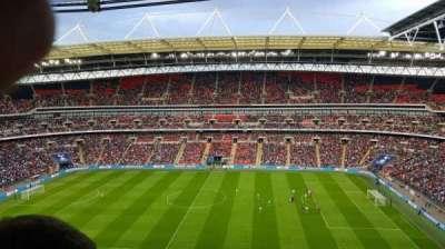 Wembley Stadium, secção: 525, fila: 18, lugar: 354
