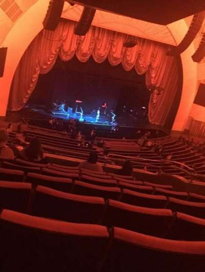 Radio City Music Hall secção 2nd Mezzanine 7