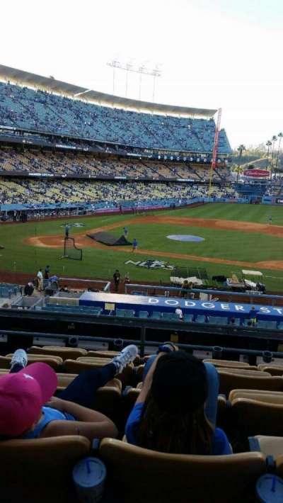 Dodger Stadium secção 123LG
