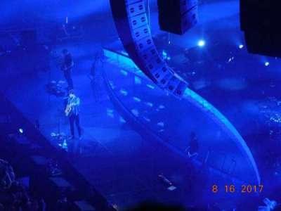 Madison Square Garden, secção: 207, fila: 8, lugar: 18