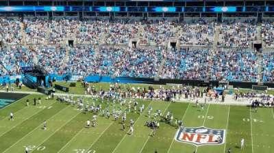 Bank of America Stadium, secção: 541, fila: 6, lugar: 17