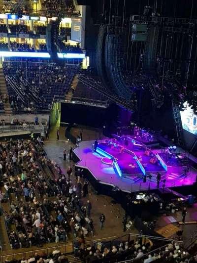 The O2 Arena, secção: 420, fila: A, lugar: 942