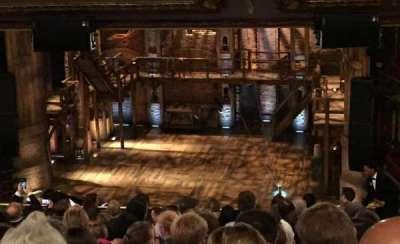 CIBC Theatre, secção: Mezzanine RC, fila: N, lugar: 322