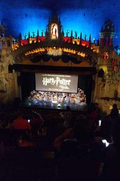 Majestic Theatre - San Antonio, secção: Mez, fila: HH, lugar: 1