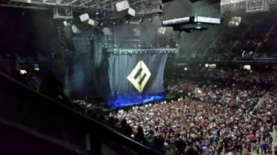 Greensboro Coliseum secção 214