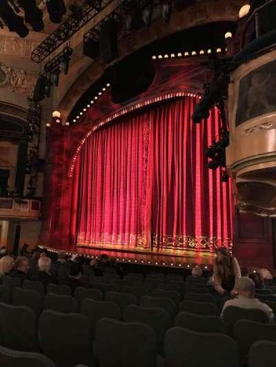 Shubert Theatre secção Orchestra R