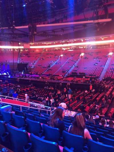 Little Caesars Arena secção 120
