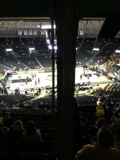 Charles Koch Arena secção 122