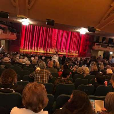 Shubert Theatre secção Standing Room