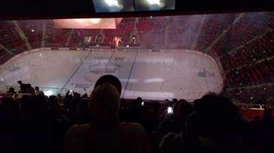 Little Caesars Arena secção 210