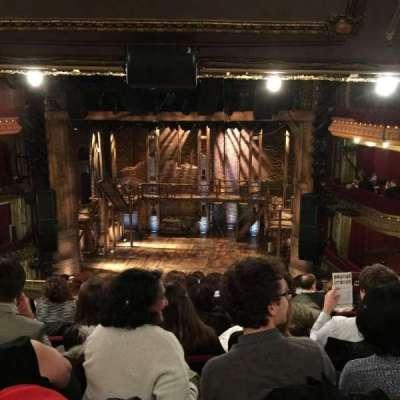 CIBC Theatre, secção: Mezzanine RC, fila: K, lugar: 314