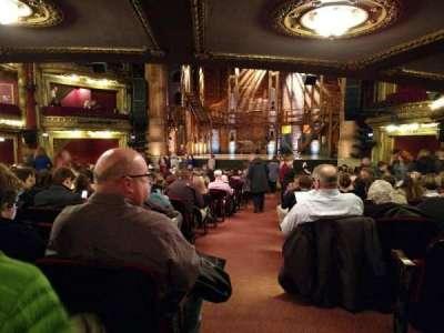 CIBC Theatre, secção: Center, fila: X, lugar: 123