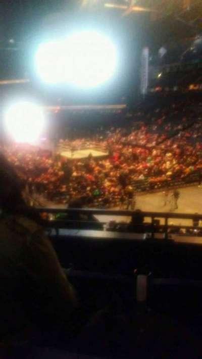 Bridgestone Arena, secção: 119, fila: k, lugar: 12