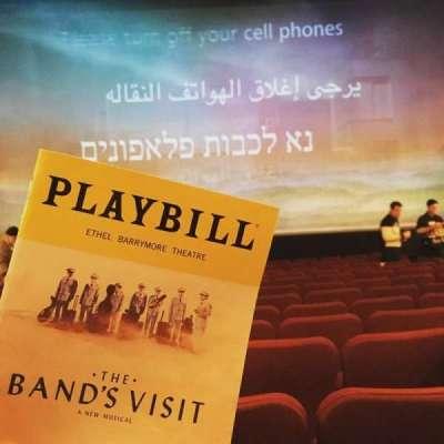 Ethel Barrymore Theatre secção Orchestra C