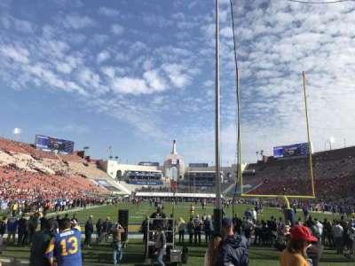 Los Angeles Memorial Coliseum, secção: 115, fila: 7, lugar: 5