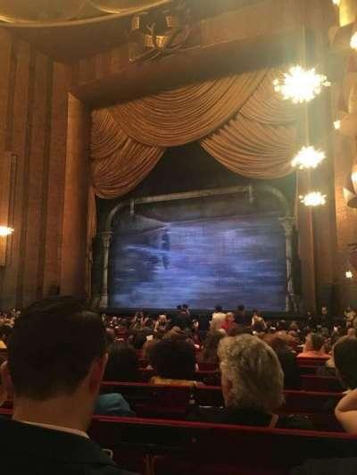 Metropolitan Opera House - Lincoln Center secção Orchestra Prime