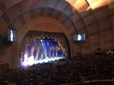 Radio City Music Hall secção 1st Mezzanine 7