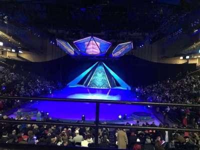 Royal Farms Arena, secção: 229, fila: A, lugar: 1