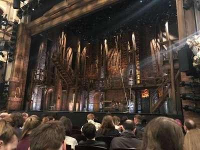 Victoria Palace Theatre, secção: stalls, fila: G, lugar: 10