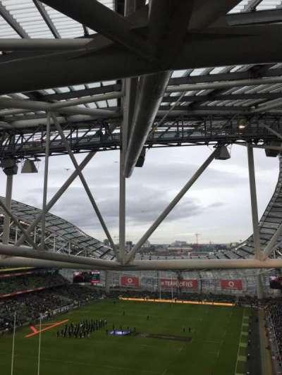Aviva Stadium secção 512