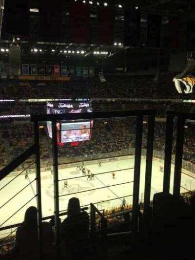 Bridgestone Arena secção 324