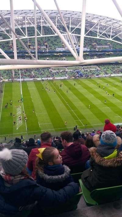 Aviva Stadium secção 508