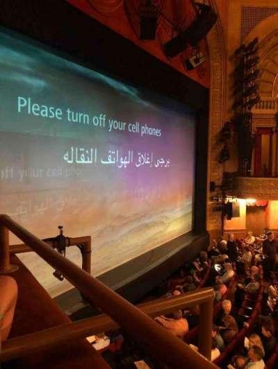 Ethel Barrymore Theatre secção Mezzanine Box