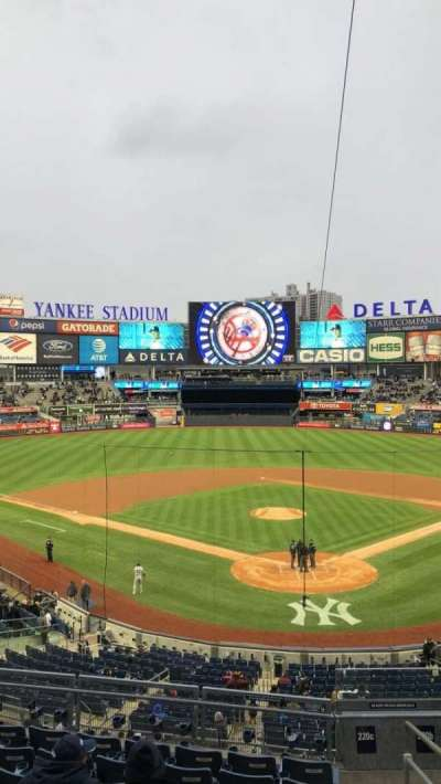 Yankee Stadium secção 220c