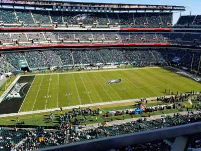 Lincoln Financial Field, secção: 242, fila: 1, lugar: 28