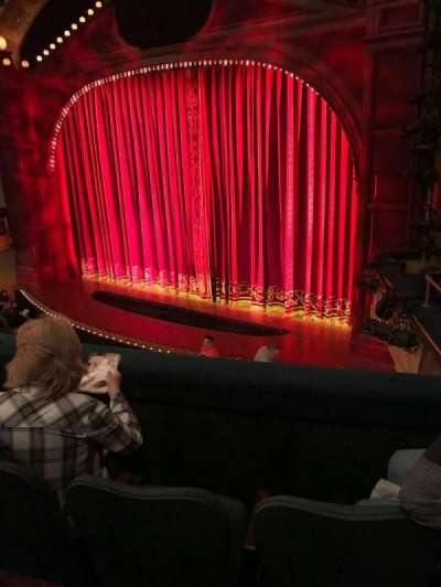 Shubert Theatre secção Mezzanine R