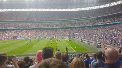 Wembley Stadium, secção: 119, fila: 24, lugar: 225