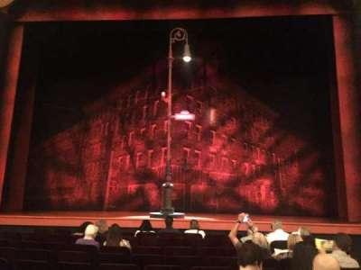 Longacre Theatre, secção: orchestra, fila: J, lugar: 107